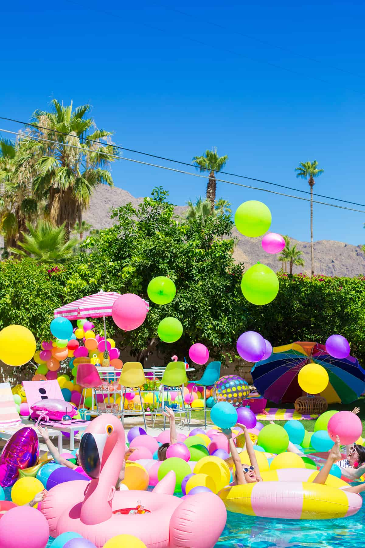 Deco Pour Faire La Fete décoration d'une poolparty trop fun ! - save the deco