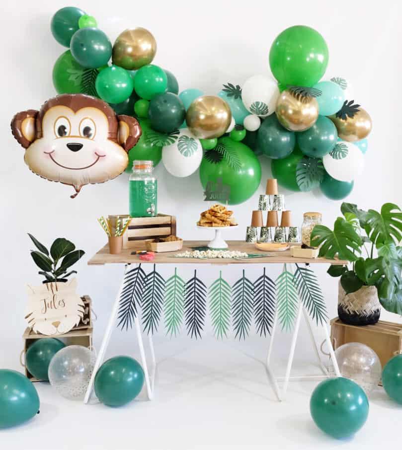 Mon anniversaire sur le thème « Jungle »