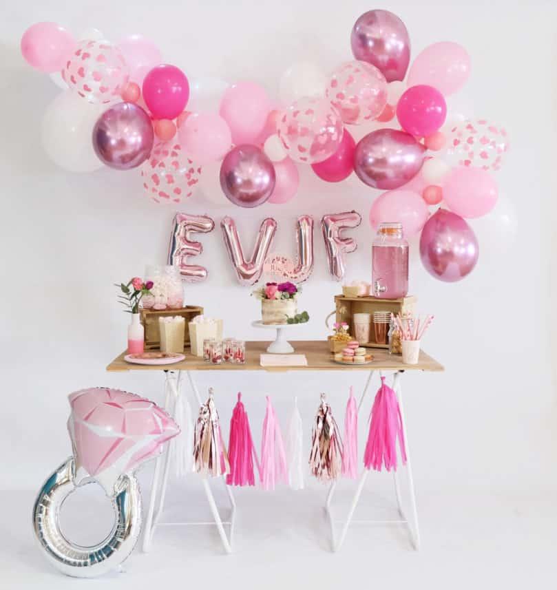 Comment organiser et décorer un EVJF rose girly?
