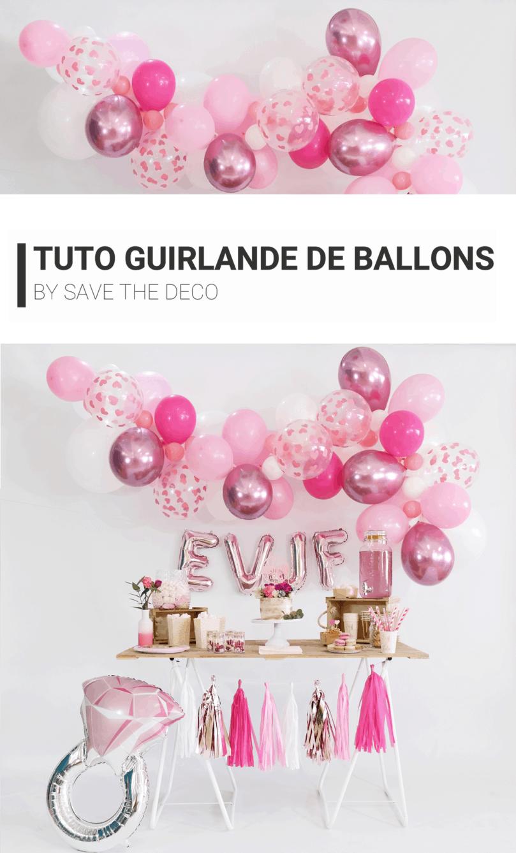DIY : tuto guirlande de ballons !
