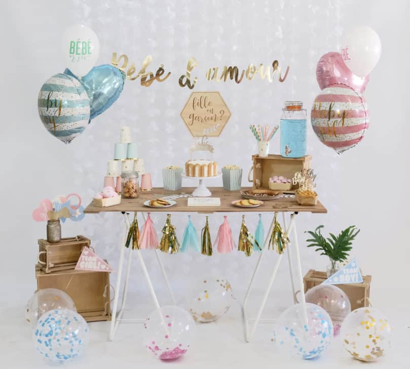 Ma fête Gender Reveal Party
