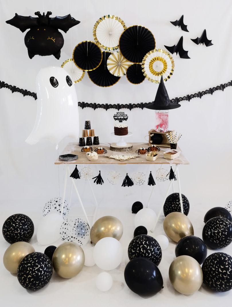 Décoration de fête Halloween chic & tendance