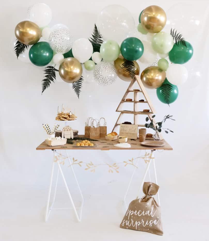 guirlande de ballons Noël