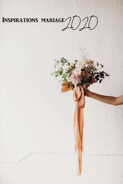 Inspiration décoration de mariage tendance 2020