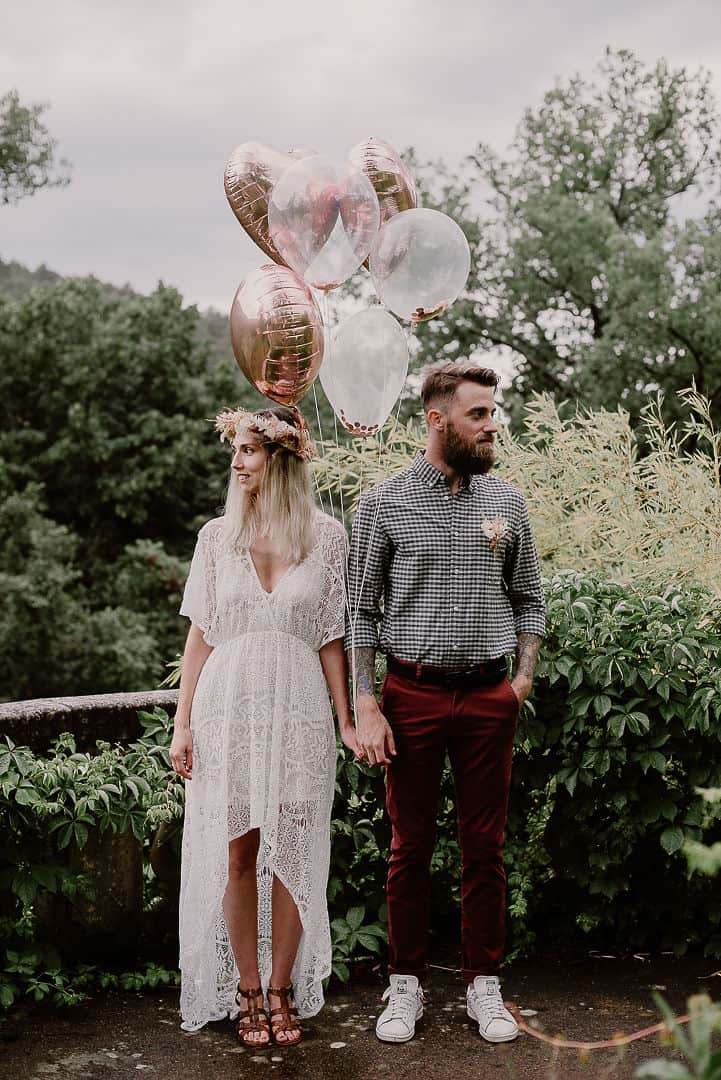 Décoration pour un mariage pampa & terracotta