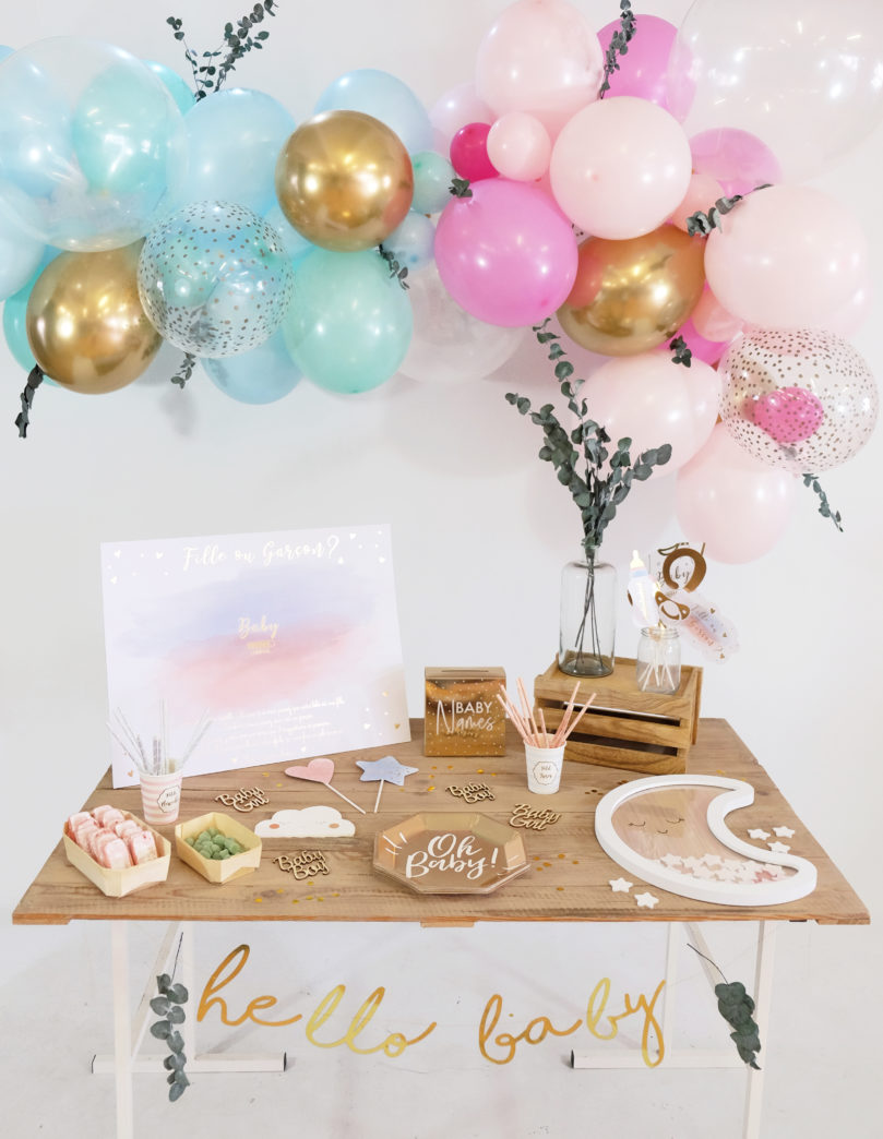 Comment organiser une gender reveal party?