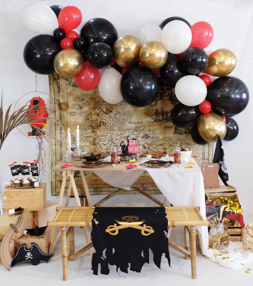 Idées décoration fête sur le thème «pirate»
