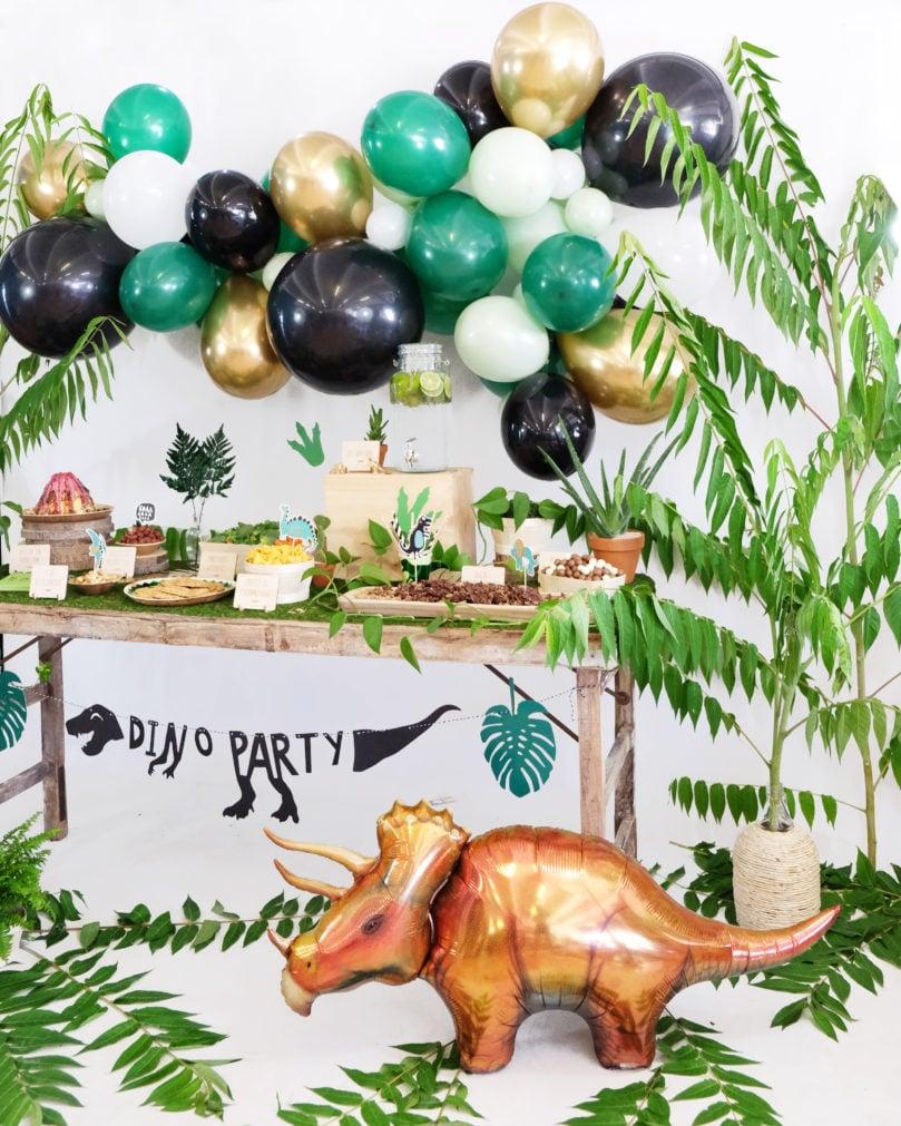 Un anniversaire sur le thème des Dinosaures!