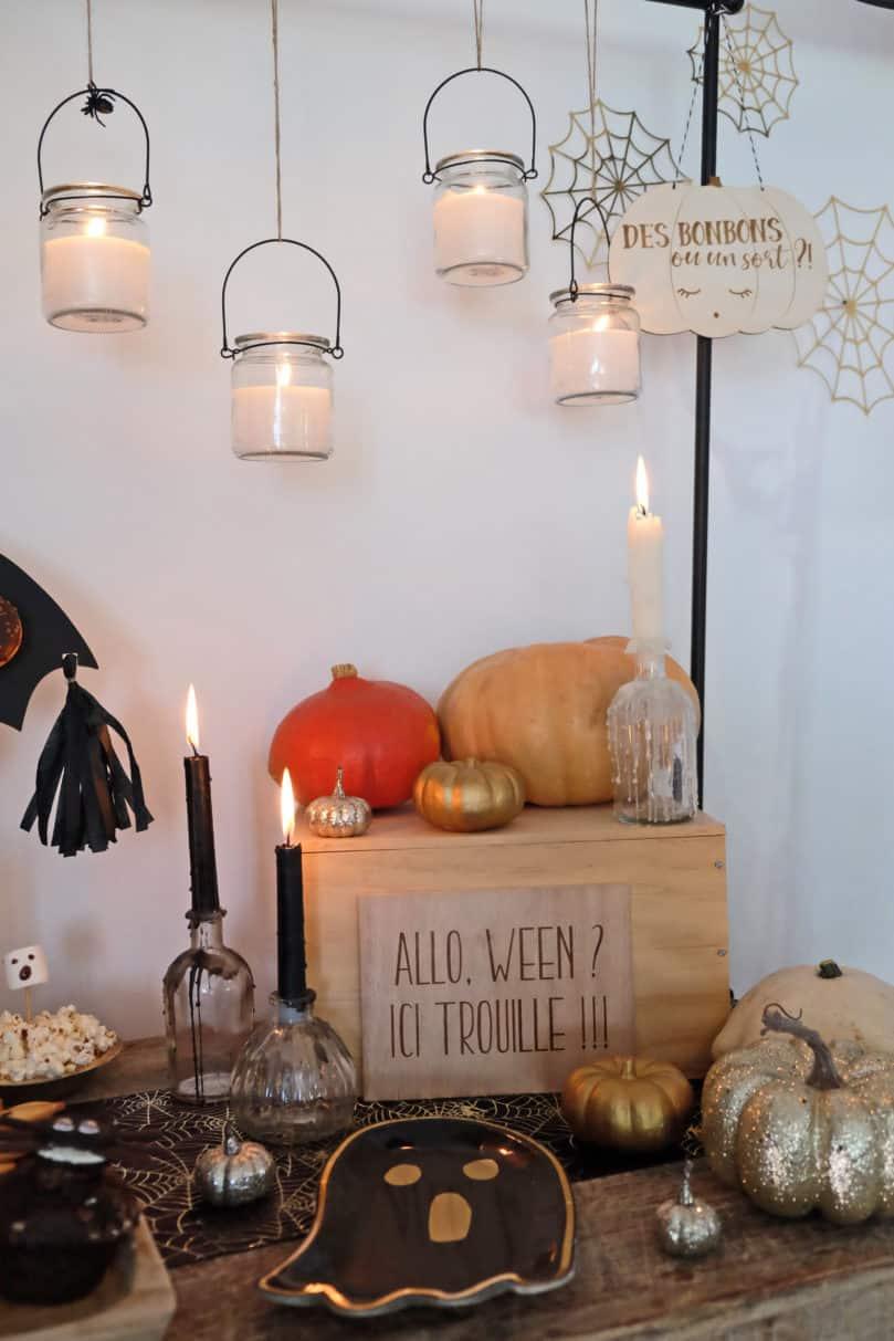 Décorer pour une fête Halloween tendance, jolie et effrayante!