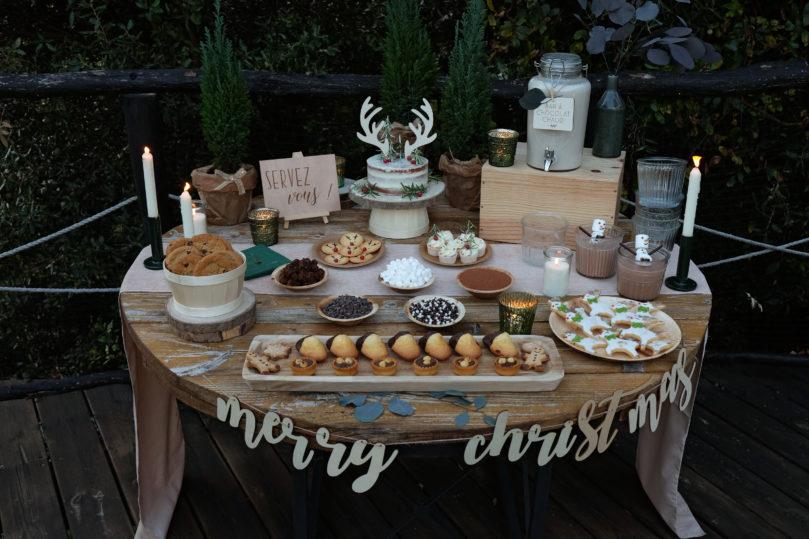 Décoration pour une jolie table gourmandises de Noël – inspiration scandinave et nordique!