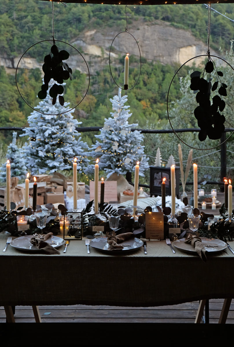 Une jolie table de Noël pour 6 invités – inspiration scandinave et nordique!