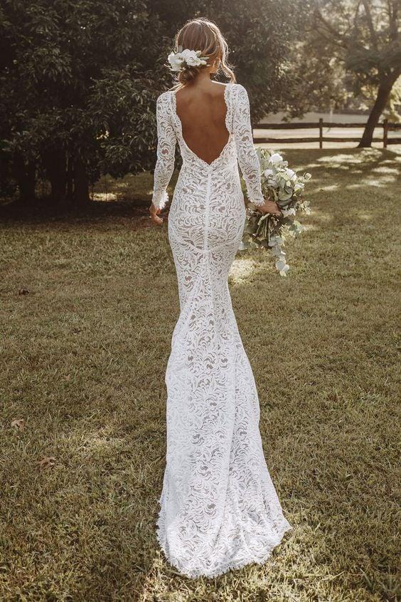 Les nouvelles tendances robes de mariée 2021
