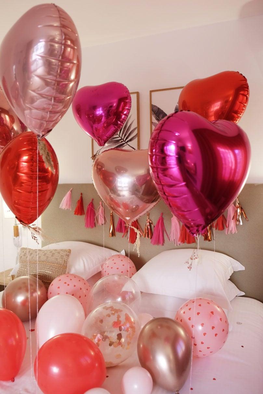 Comment décorer de façon simple pour la Saint-Valentin?