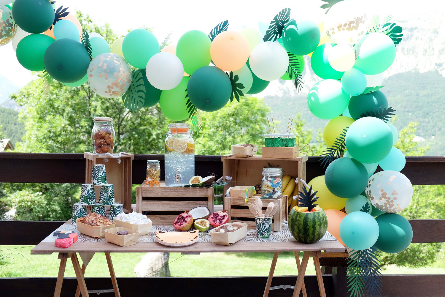 Decorations Fetes Enfants Bapteme Anniversaire Baby Shower Party